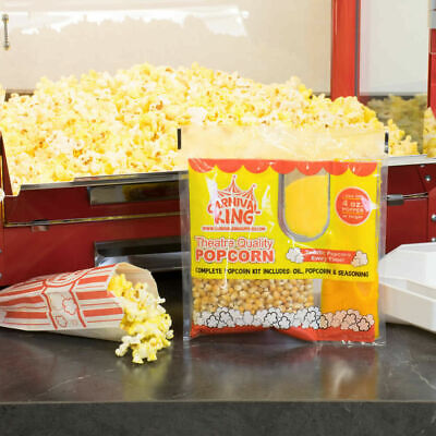 24-pack All-in-one Large Butterfly Butter Popcorn Kit For 4 Oz. Poppers