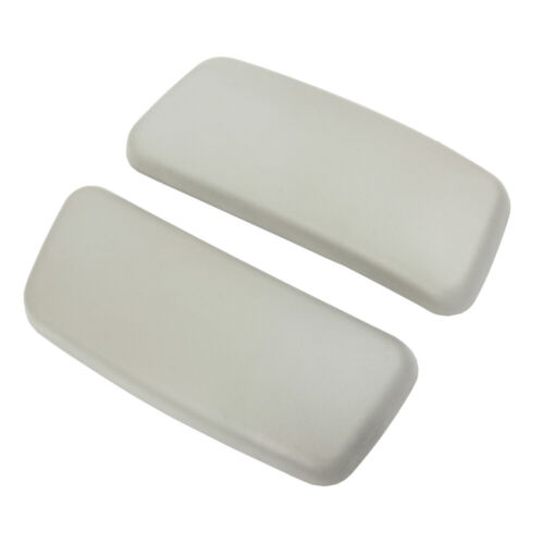 Brand New Gray Arm Pads Caps Replacement For Haworth Zody Of