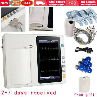 12 Lead Digital 3 Channel Ecg Machine Ekg Machine Electrocardiograph System Tool