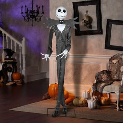 Disney ANIMATED LIFESIZE JaCk SkELLiNgToN Halloween Nightmare B4 Christmas Prop