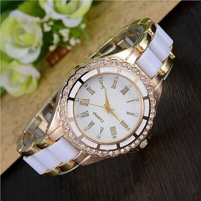 (Watch Rhinestone Women's Quartz Watch Alloy Case Roman Numerals Analog Fashion)