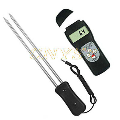 Digital Grain Moisture Meter Tester With Storage Statistical Functions 7 To 30