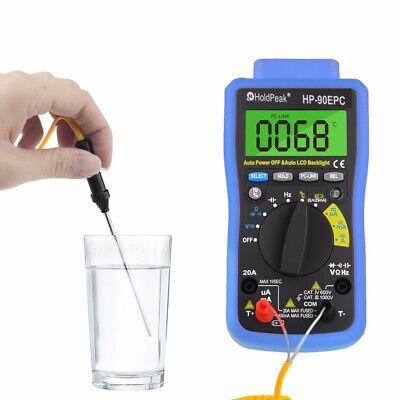 Digital Multimeter Dmm Voltage Current Ohm Capacitance Meter Usb To Pc Connect