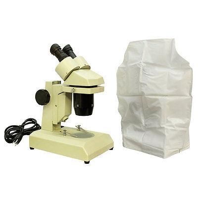 Binocular Stereo Microscope 1x 3x Objectives Led Illumination Scientific Scope