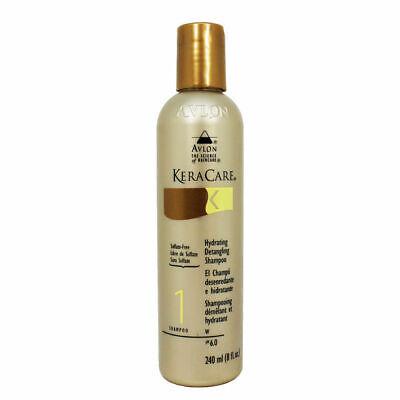 Avlon Keracare Hydrating Detangling Shampoo - Sulfate-Free 8oz Hydrating Detangling Shampoo