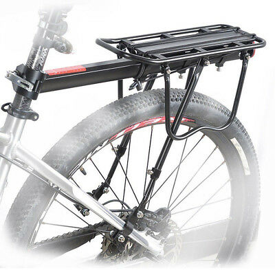 Seatpost Pannier Rack (Bicycle Mountain Bike Rear Rack Seat Post Mount Pannier Luggage Carrier)