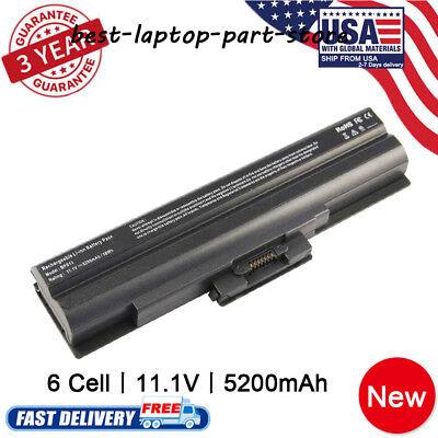 Laptop Battery for Sony Vaio VGP-BPl13 VGP-BPS13/B VGP-BPS13Q VGP-BPS21B Black ()