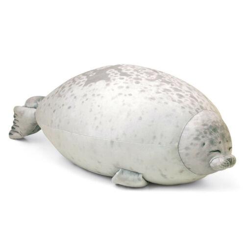 Osaka Aquarium Chubby Seal Plush Pillow Cute Kaiyukan Fat Stuffed Animal Gift 88