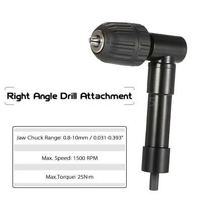 Pro Right Angle Bend Extension 90 Degree Cordless Drill Attachment Adapter G5w2