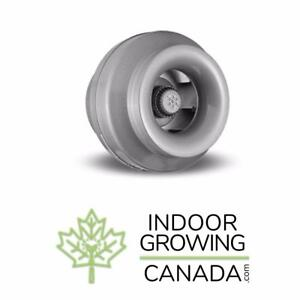 Vortex Inline Fans - Indoor Hydroponic and Soil Growing | IndoorGrowingCanada.com