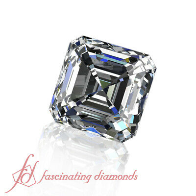 1/2 Carat Asscher Cut Loose Diamonds On Sale - Conflict Free Diamonds - VS2-F