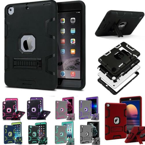 Ipad Mini Case - Military Shockproof Heavy Duty Rubber With Hard Stand Case Cover For Apple iPad