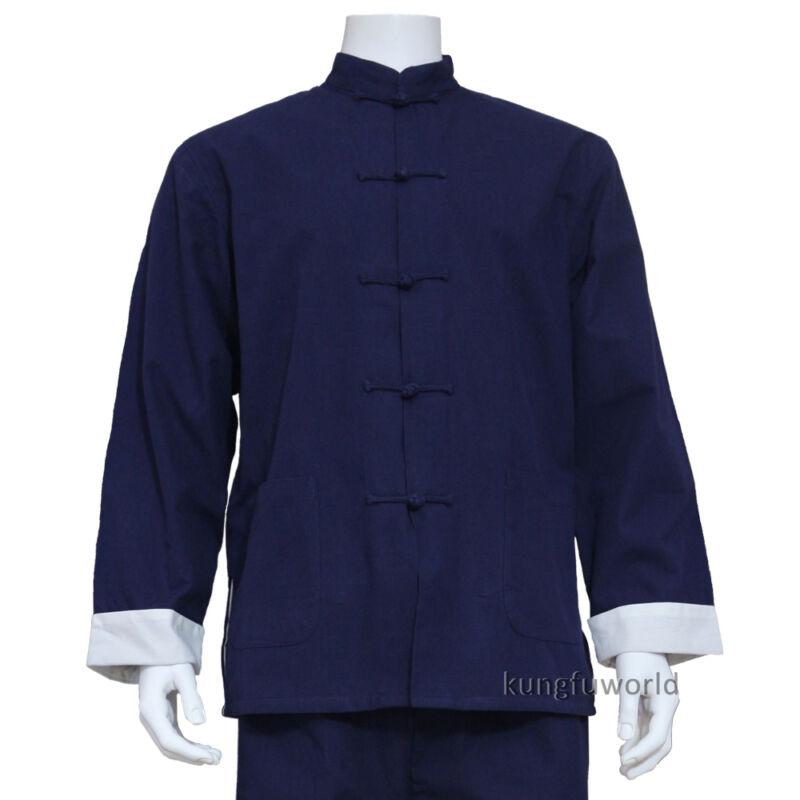 Thick Cotton Wing Chun Kung fu Jacket Tai chi Martial arts Top Wushu Coat