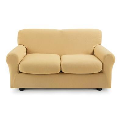 Copridivano 2 posti con 2 cuscini Zucchi Copri divano ZAPPING ocra