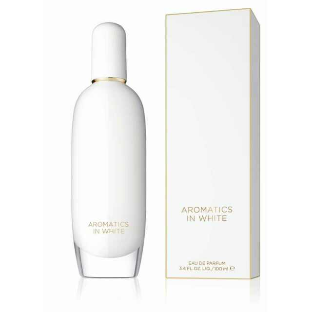 Clinique Aromatics In White 100ml EDP  - BRAND NEW RETAIL PACKAGED & SEALED