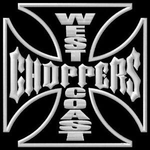 West Coast Choppers S Parche bordado Thermo-Adhesiv iron-on patch - <span itemprop=availableAtOrFrom>Poznan, Polska</span> - Zwroty są przyjmowane - Poznan, Polska