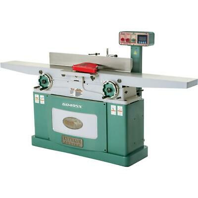 Grizzly G0495x 8 X 83 Helical Cutterhead Jointer With Exclusive Digital Hei...