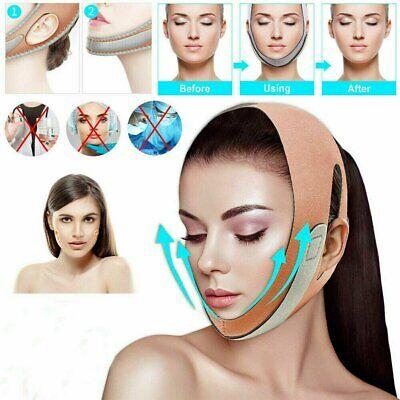 US Face V-Line Slim Lift Up Mask Chin Cheek Slimming Strap Belt Anti-Aging Band Health & Beauty