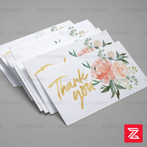 Thank You For Your Purchase 250 Business Cards Pro Design 16pt UV Gloss or Matte