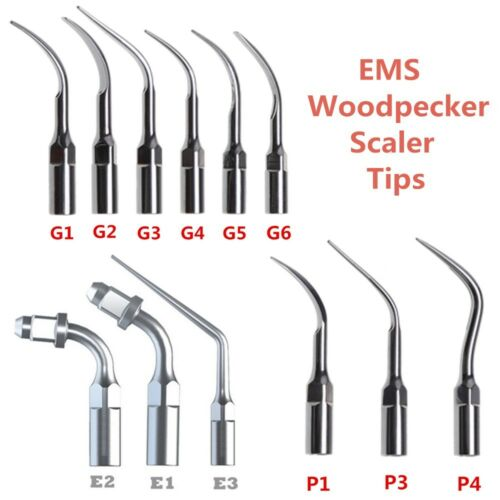 5PCS Dental Ultrasonic Scaler Perio Scaling Endo Tip Fit EMS/WOODPECKER  A-UK