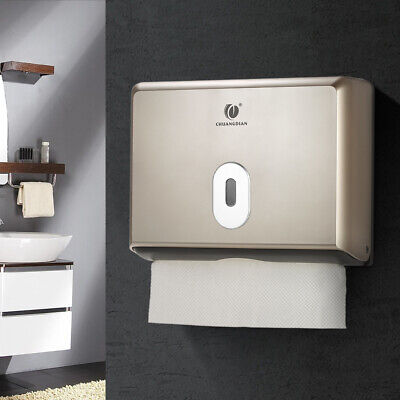 Washroom Paper Towel Tissue Dispenser Commercial Home C Fold Wall Mounted Tool