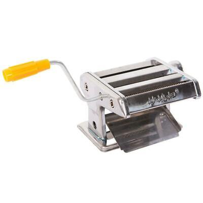 """6"""" Pasta Maker Roller Machine Noodle Spaghetti Stainless Steel Pasta Makers"""