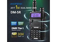 ham radio Baofeng DM-5R DMR swap Wouxun KG-UV9D
