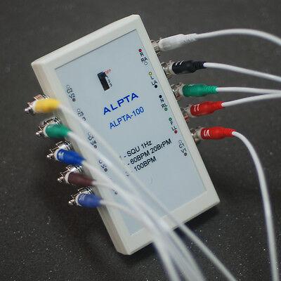 Ecg Ekg Human Patient Simulator Biomedical Test Equipment Monitor Alpta-100