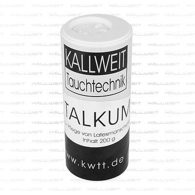 Talkum für Arm- und Halsmanschetten Latex Neopren TOP Qualität 150 gr. Streuer