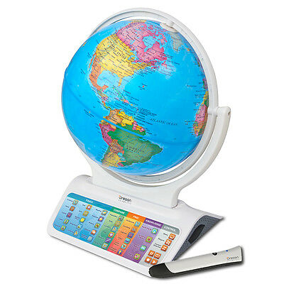 Oregon Scientific Infinity SmartGlobe Education Learning Geography Globe SG328