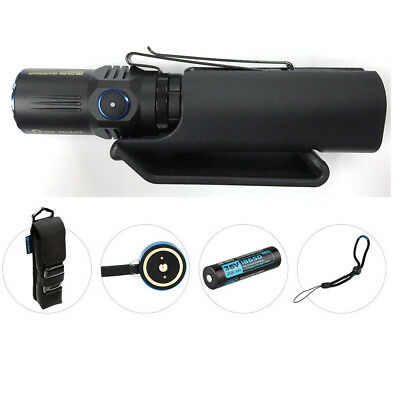 Holster Bundle: Olight M2R Warrior 1500Lm Rechargeable LED Flashlight Cool White
