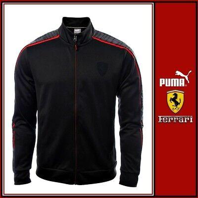 Puma Mens Ferrari Moonless Night Jacket Zip Hoodie Track Top - Free Tracked Post