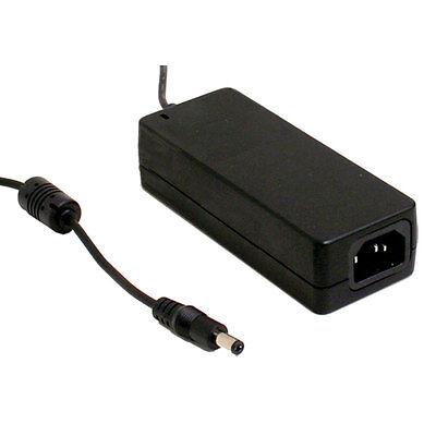 Mean Well Gst60a12-p1j 12 Volt 5 Amp 60 Watt Regulated Switching Table Top Power