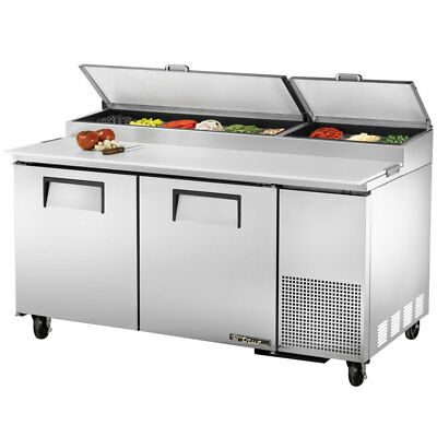 True Tpp-67 Commercial Solid Door Pizza Prep Table