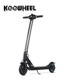 KooWheel L8 Portable Electric Scooter 18mph+ BNIB