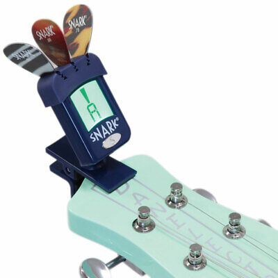 Snark N-5 Tuner for Guitar Bass and Violin (Blue)