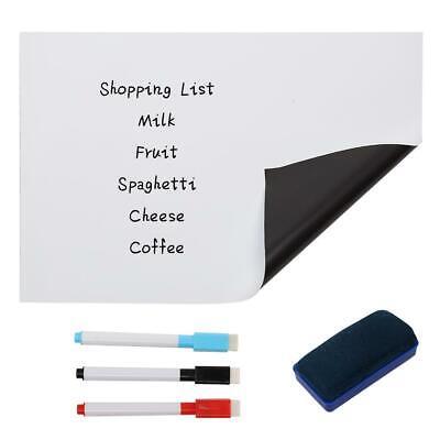 15.8 X 11.8 Dry Erase Board Whiteboard Sticker Chalkboard Wall Refrigerator