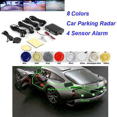4 Sensors 8 Corlors Car Parking Reversing Radar Detector