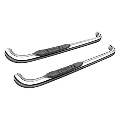 "Westin E-Series Round Nerf Bars 3""Polished Stainless For 08-13 Sierra 1500"