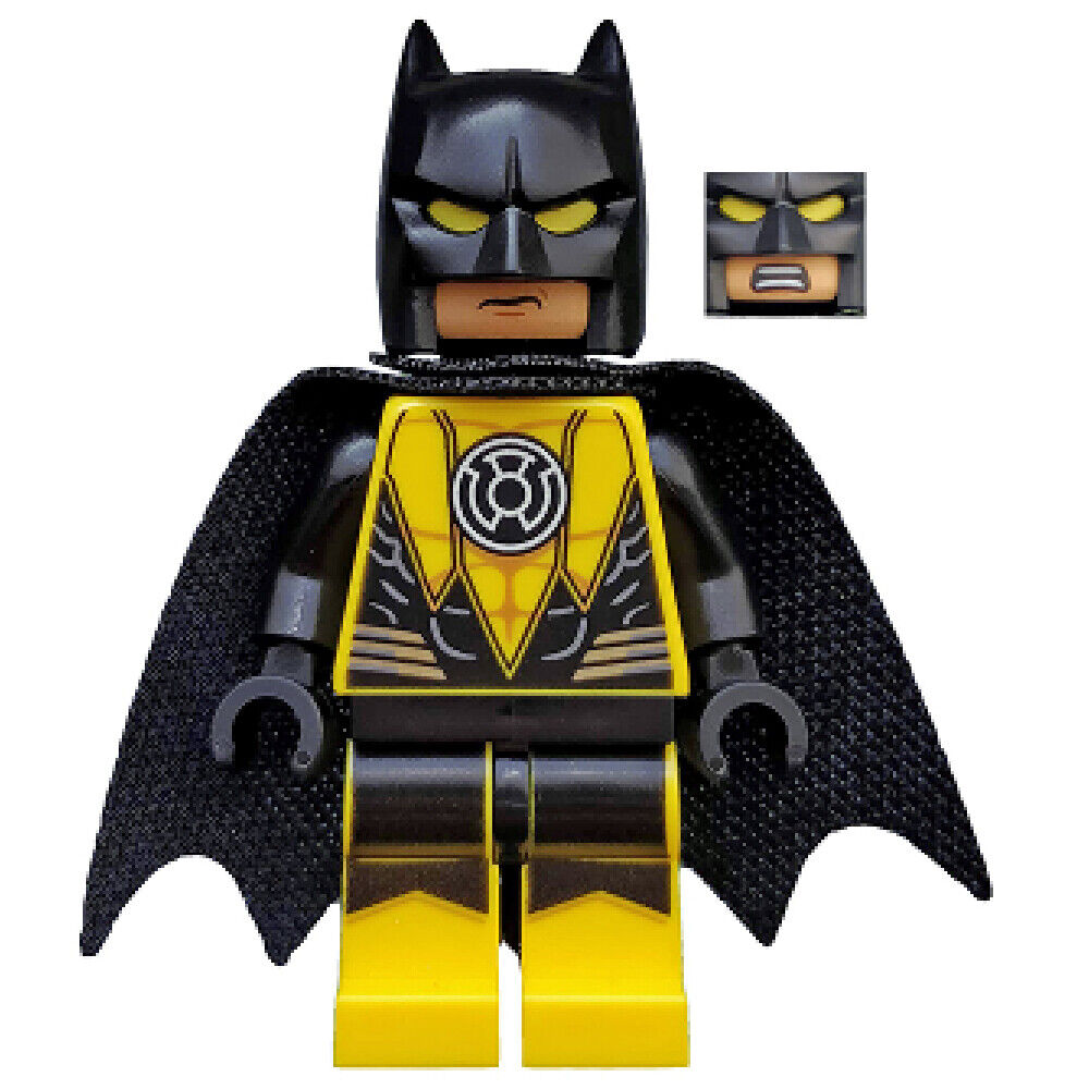 LEGO Superheroes Exclusive: Batman Yellow Lantern Minifig ...
