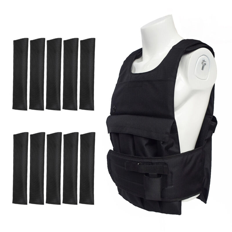 Weight Vest Adjustable Workout Exercise Strength Train+Detachable Weight Pocket