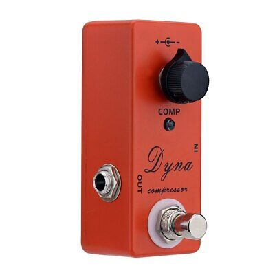 Dyna Compressor Electric Guitar Effect Pedal True Bypass - UK Seller