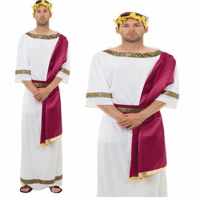 Erwachsene Römisch Griechischer Gott Herren Toga Party Kostüm - Römischen Gottes Kostüm