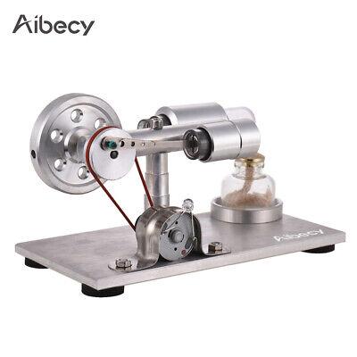 Bausatz Kit Stirling Motor Heißluft Engine Modell Motorleistung Generator V6Y2