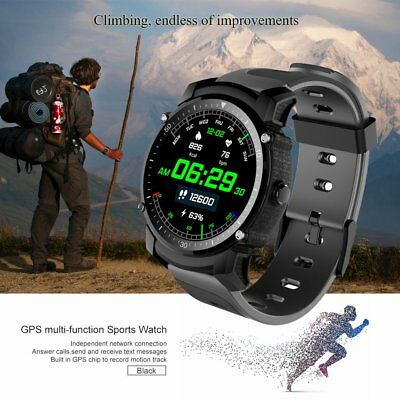 Waterproof Smart Watch Gps Sports Fitness Tracker Heart Rate For Iphone Android