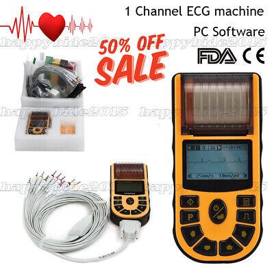 Handheld Ecg Ekg Machine With 6 Language Version Available Electrocardiograph