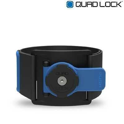 Quad Lock Arm Band Fitness Gym Running Jogging Mobile Phone Mount