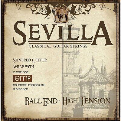 Sevilla 8452 Classical Acoustic Guitar Strings High Tension, Ball (High Tension Ball)