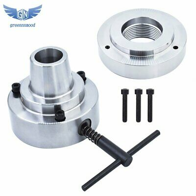 New 5c Collet Lathe Chuck Closer With Semi-finished Adp.2-14 X 8 Thread