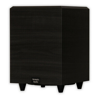 """Acoustic Audio PSW-8 Home Theater Powered 8"""" Subwoofer 300 W"""